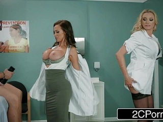 Dick Stuck In Fleshlight - Doctors Briana Banks &..