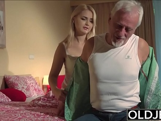 Double penetration senior movies have